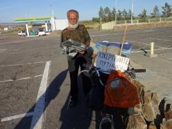 Дорога от Ямаровки до о.Арей